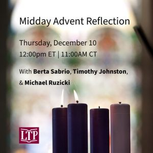 Midday Advent Reflection @ Online via Facebook