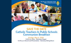 Catholic Teachers In Public Schools Communion Breakfast 2018 @ Seminary of the Immaculate Conception | Lloyd Harbor | New York | United States