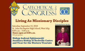 Catechetical Congress 2018 @ St. John the Baptist Diocesan High School | West Islip | New York | United States