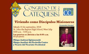 Congreso de Catequesis 2018 @ St. John the Baptist Diocesan High School | West Islip | New York | United States