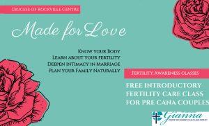 PreCana Fertility Awareness Class @ Gianna Center of Long Island for Women's Health & Fertility
