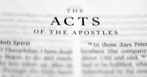 The Acts of the Apostles and the Beginning of the Church @ OLPH School Building (Room 3)