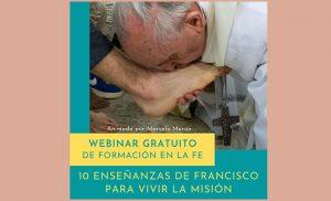 10 Enseñanzas De Francisco Para Vivir La Misión @ Virtualmente via Zoom